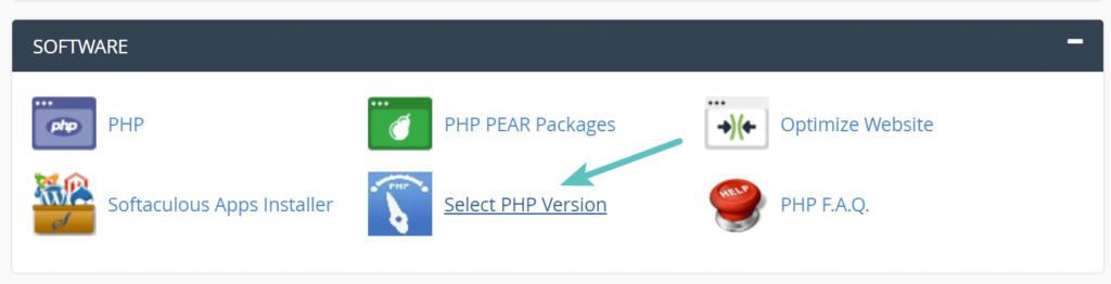 increase maximum file upload limit - select php version